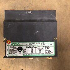 Asco 920 Rc Switch 3 Pole 100amp Coil 265 277v 50 60hz Cat No 920310070x