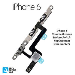 IPHONE-6-VOLUMEN-AUDIO-CONTROL-Silencio-Interruptor-Reemplazo-de-cable-flexible
