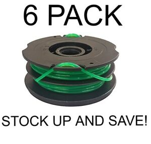 Dual-Line-Trimmer-Spool-for-Black-amp-Decker-DF-080-BKP-6-Pack