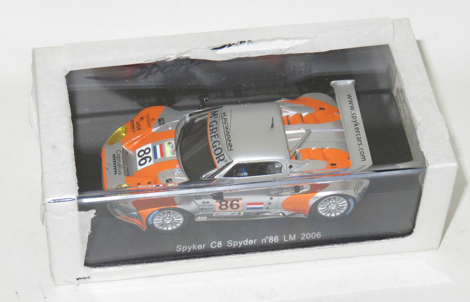 Spyker C8 SPYDER GT2-R AUDI LE MANS 24 ore 2006  86