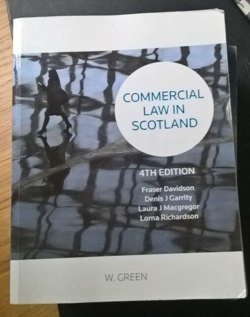 Commercial Law in Scotland by Professor Fraser P. Davidson, Laura Macgregor...