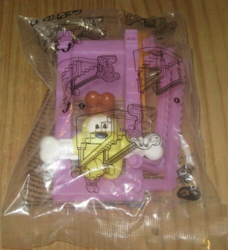 The Odie Tumble 2016 Garfield Burger King Kids Meal Toy