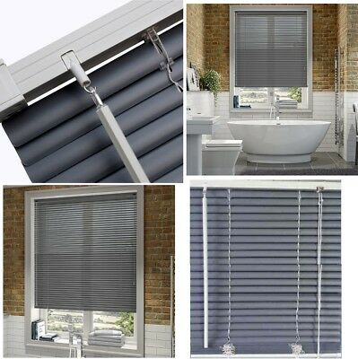 Pvc Grey Venetian Window Blinds Blind