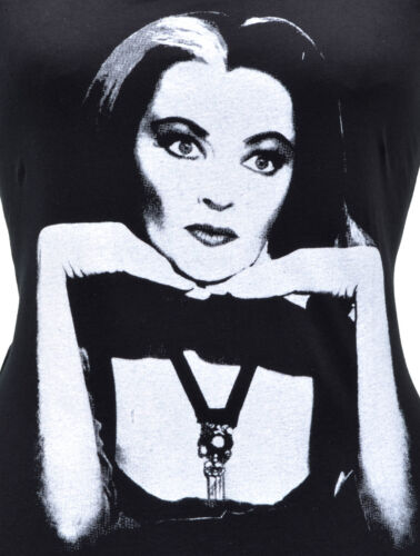 WOMENS TANK TOP LILY MUNSTER MEET THE MUNSTERS B-MOVIE VINTAGE HORROR HALLOWEEN