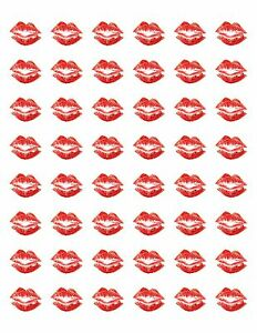 48-VALENTINES-RED-LIPS-KISS-ENVELOPE-SEALS-LABELS-STICKERS-1-2-034-ROUND