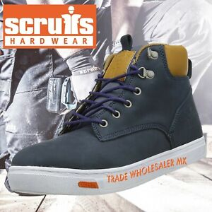 2eb6ed3b328 Details about Mens Scruffs Steel Toe Cap Safety Boots Mistral Work Boots  Size 7-12 Steelies