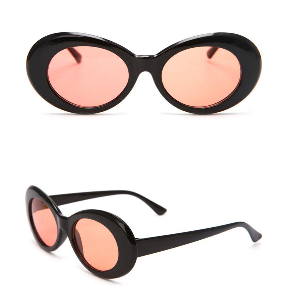 bc4198d463c 2018 Kurt Cobain Clout Goggles Sunglasses Rapper Oval Shades Fancy Glasses  NEW