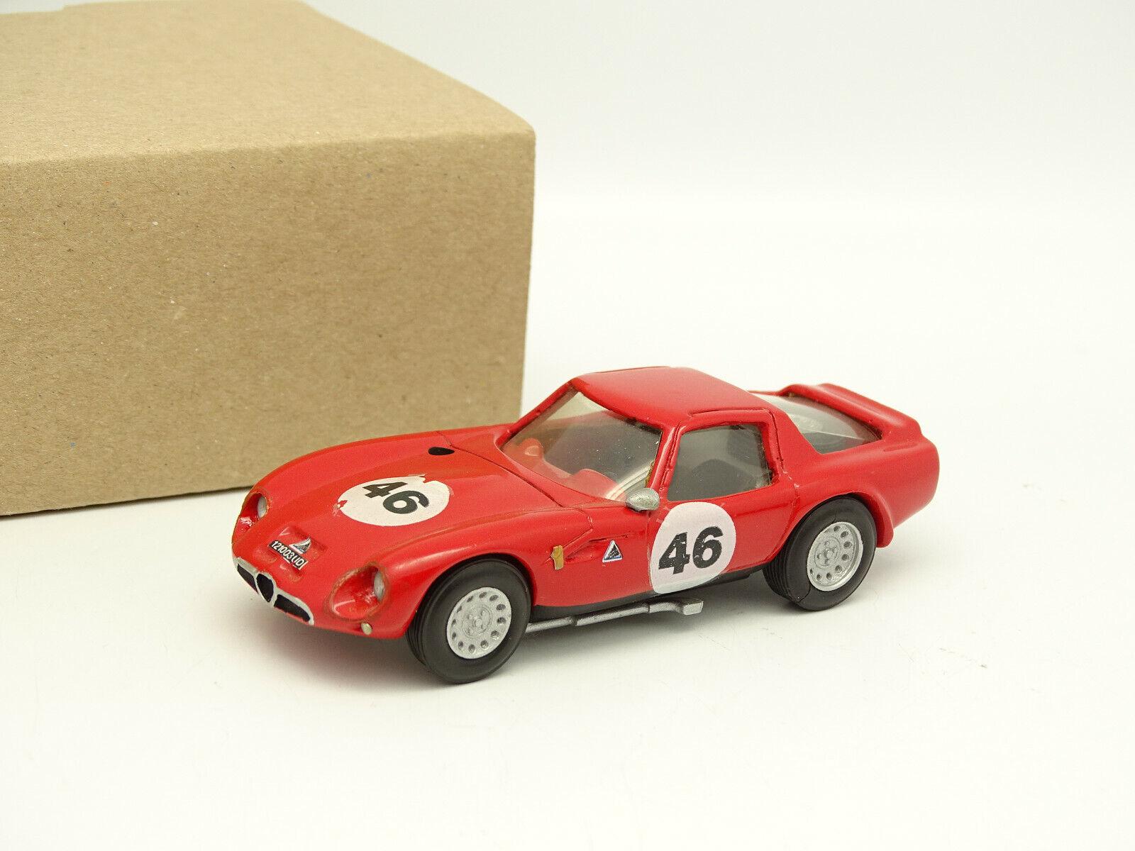 Abc Brianza Kit Montato Resina 1/43 - Alfa Romeo Tz 2 1965 Tubolare N 46