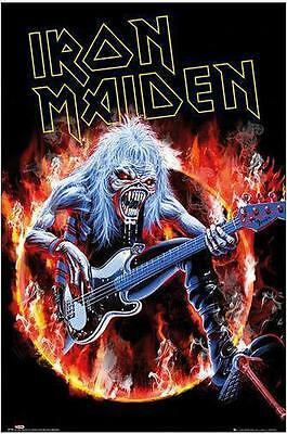 """IRON MAIDEN POSTER """"FEAR OF THE DARK LIVE"""""""