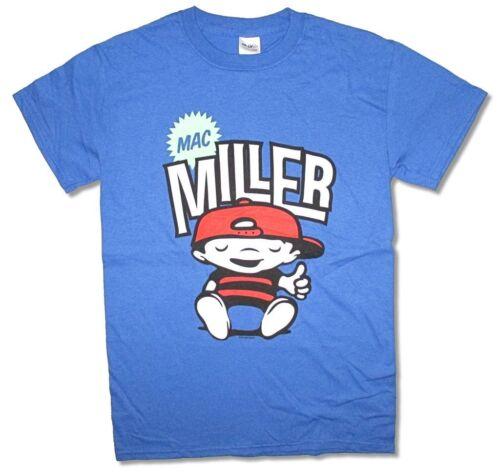 Mac Miller Chillin Comic Cartoon Most Dope Blue T Shirt New Official