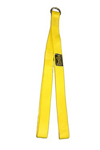 """Details about  /Spud 32/"""" Long Ab Strap Abdominal Crunch Use Arms Handle Heavy Weight Inc"""