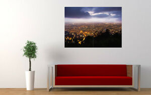 BOGOTA-NIGHT-NIGERIA-NEW-GIANT-LARGE-ART-PRINT-POSTER-PICTURE-WALL-33-1-034-x23-4-034