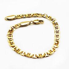 Luxury 5 mm width 18 k Gold Plated Bracelet for Men Man Jewellery BB110