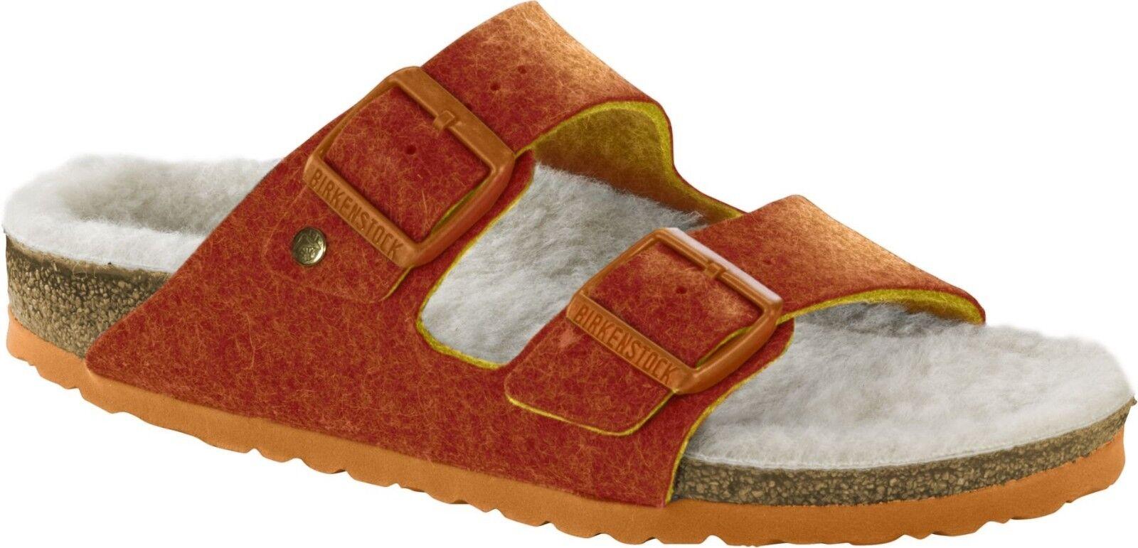 Birkenstock Arizona Doubleface Orange Fußbett Größe 38 Fußbett Orange schmal f49e8e