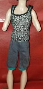 Monster-High-Doll-Dance-Class-Gil-Webber-Outfit-Clothes-Shirt-amp-Short-1211