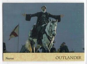 Outlander-Season-2-2017-RAINBOW-FOIL-BASE-Card-52-NERVE