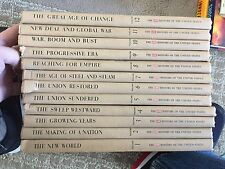 History of the United States Time-Life complete 12 volume set 1963-64 HC