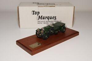 D-TOP-MARQUES-B1-BENTLEY-4-5-LITRE-VANDEN-PLAS-1929-GREEN-MINT-BOXED-RARE-73-300