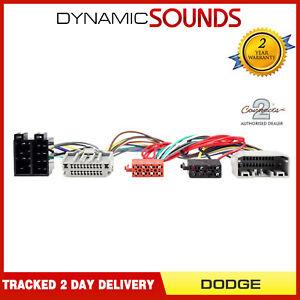 CT10DG01-Bluetooth-Parrot-Sot-T-Harnais-de-tete-Iso-Adaptateur-Cable-pour-Dodge