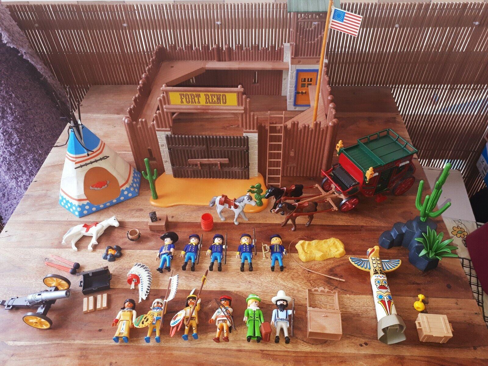 Playmobil Fort Reno 4072 descatalogado fuerte far west Randall