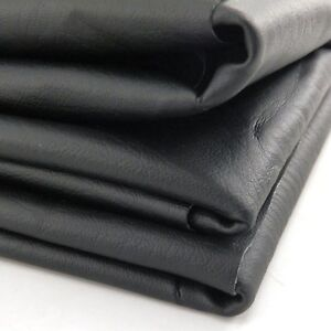 Diy Motorcycle Atv Scooter Seat Cover Fabric Matte Black 27 X