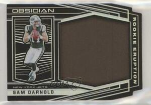 2018 Panini Obsidian Eruption Relics /100 Sam Darnold #RE-1 Rookie