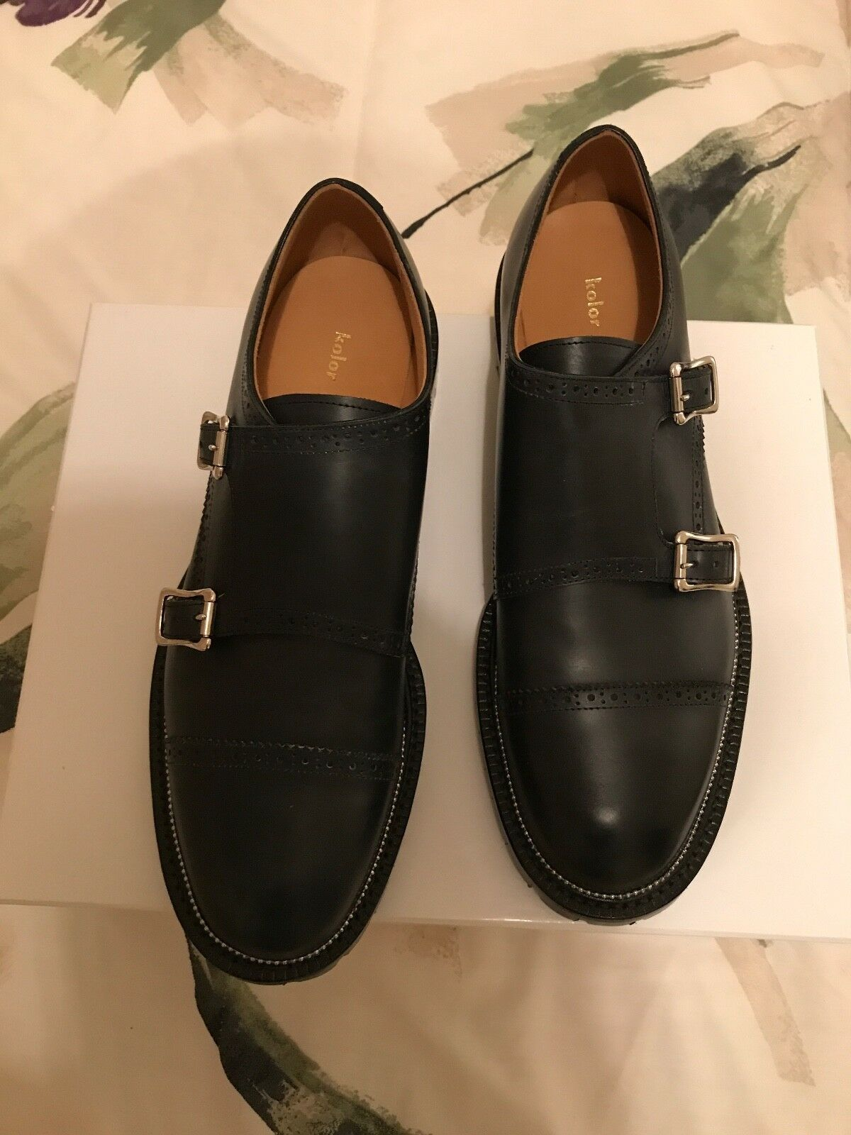 mens shoes by Kolor,Made in Japan,outside genuine leather inside sole rubber