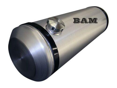 8x30 END FILL SPUN ALUMINUM GAS TANK 3//8 NPT OFFSET OUTLET BUNG 6 GALLON