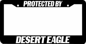 image is loading protected by desert eagle license plate frame - Eagle License Plate Frame