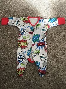 One-pieces Clothing, Shoes & Accessories Trustful Next Comic First Size Babygrow