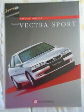 Vauxhall Vectra Sport brochure Jul 1997