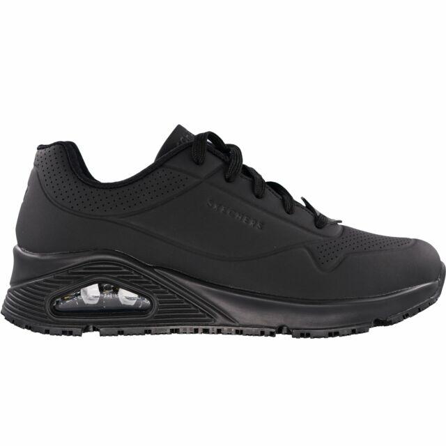 Work Bell Slip Resistant Shoes Black
