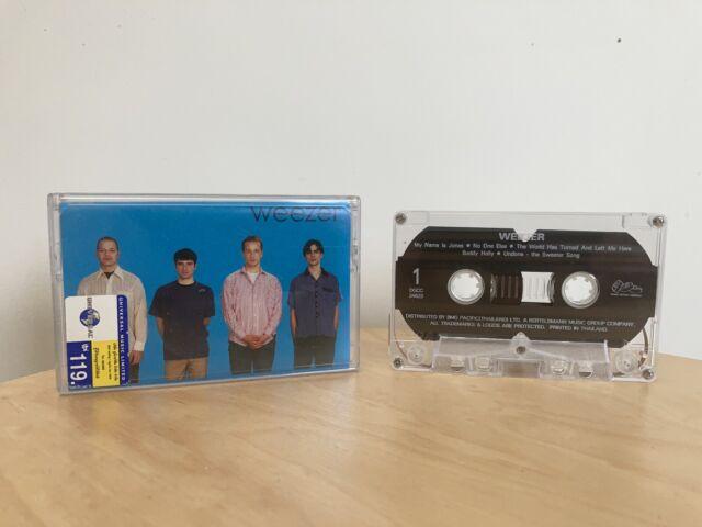 Weezer S/T (The Blue Album) Cassette Tape original pressing 1994