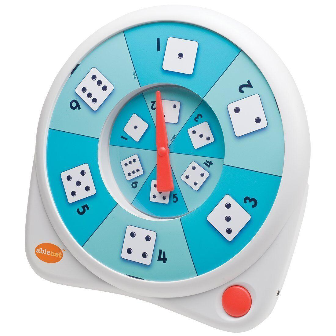 AbleNet All -Turn -it Spinner för att välja grupper eller spela spel 1007003