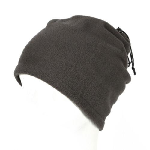 Wintersport Thermal Fleece Schal Snood Neck Wärmer Gesicht Maske Beanie Hat NEU~