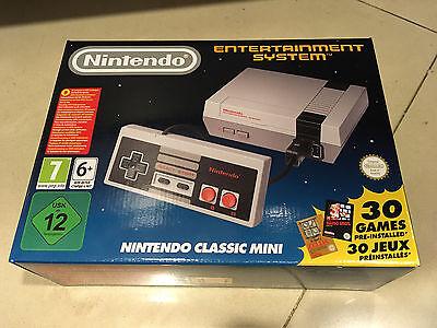 Nintendo Classic Mini NEW Entertainment System NES 30 Giochi DISPONIBILE