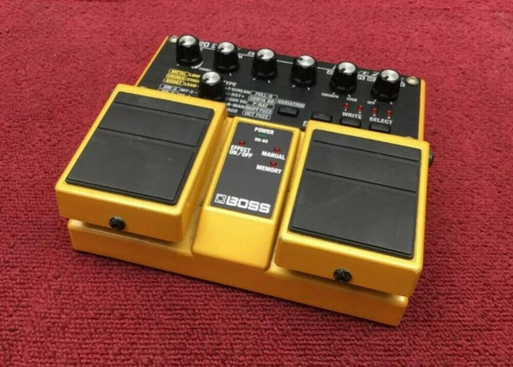 BOSS OverDrive OD-20 Guitar Effects electro