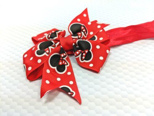 Headband Bowknot Hair Band Baby Patterned Elastic Ribbon Soft Handmade