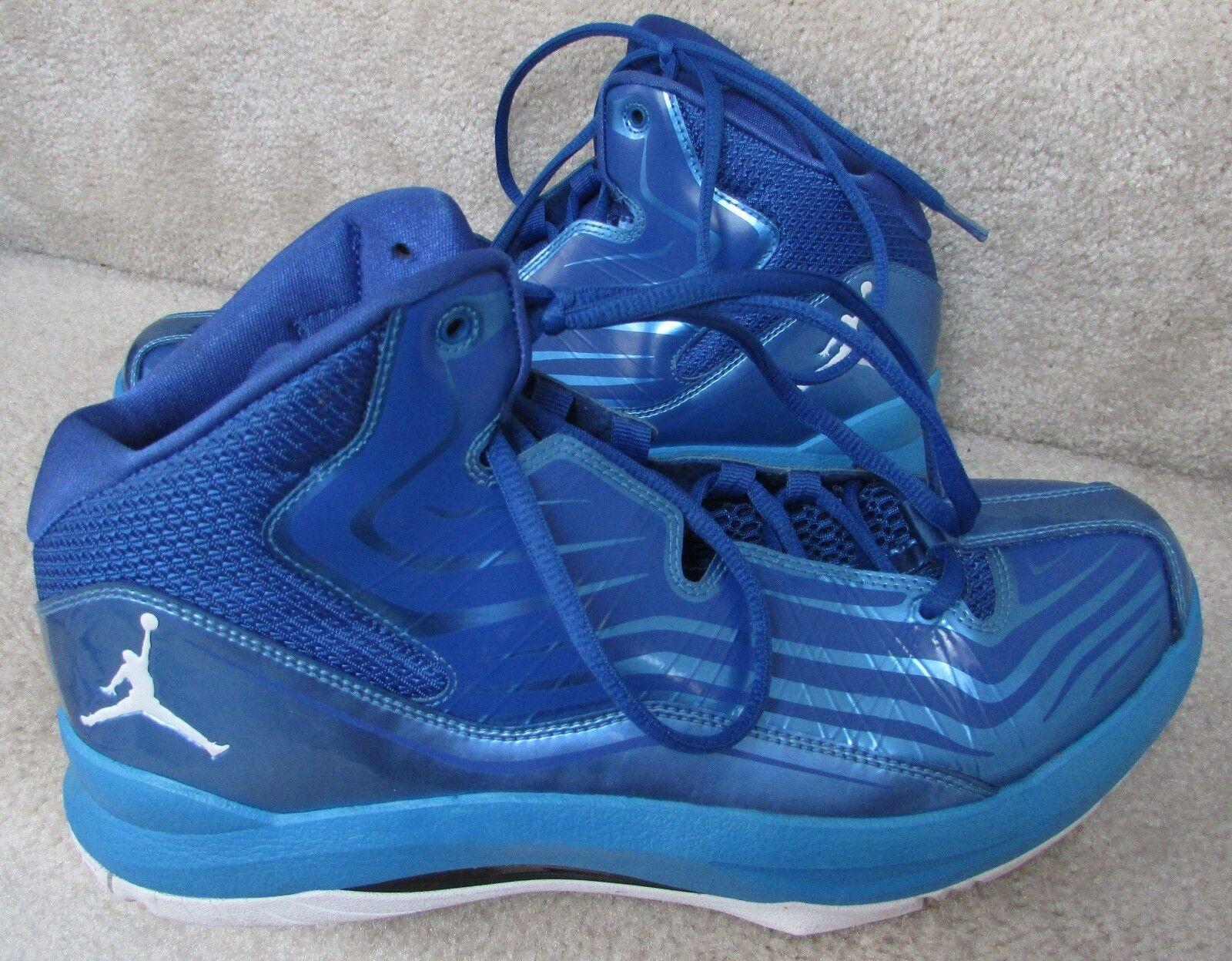 Uomo nike jordan aero mania scarpe taglia 9 campioni 552313-405 basket.