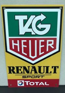 Tag Renault Total f1 Team Racing Vintage Reproduction Garage Sign