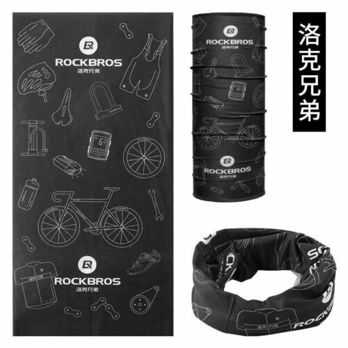 RockBros Cycling Bike Multi-function Scarf Headwear NeckWarmer Headband TJ-001