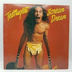 Ted-Nugent-Scream-Dream-VINTAGE-VINYL-LP-AL-36404-Rare