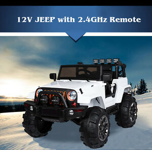 image is loading 12v mp3 kids ride on jeep car r c