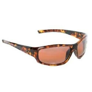 a8ddf6860a7 Image is loading Strike-King-S11-Optics-Brown-Tortishell-Amber-Lens-