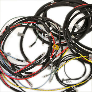 details about willys jeep wiring harness cj3b 1953 56 with turn signals usa made Ford Wiring Harness