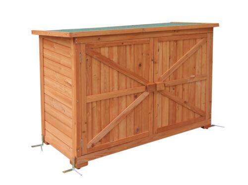 Mcombo jardin armoire gerätescharank cabane à outils cabane cabane de jardin bois