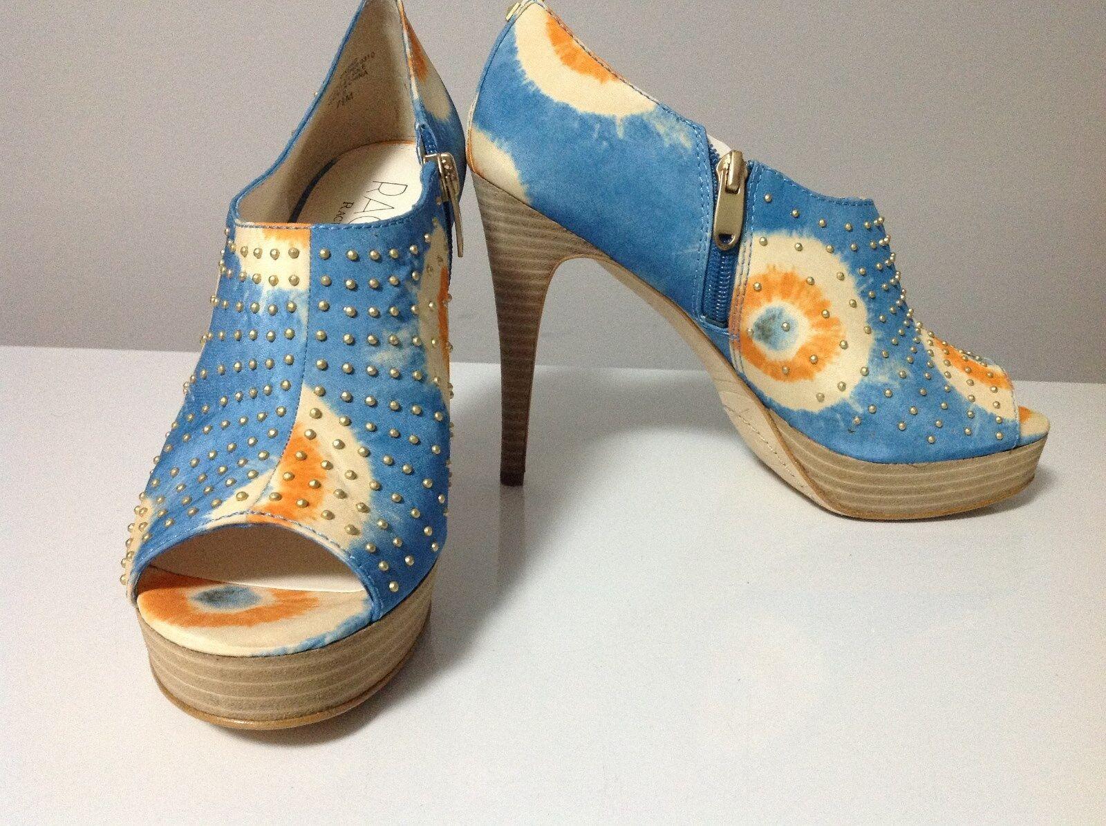 prodotti creativi Rachel Roy Keiko Open Open Open Toe Ankle avvio blu Multi Colore Dimensione 7.5  online al miglior prezzo