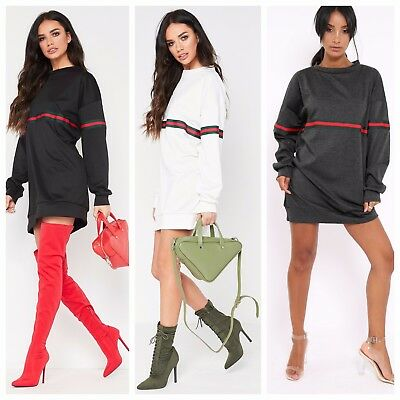 Womens Cowl Neck Long Sleeve Sweater Jumper Pullover Baggy Tunic Top RRP 19.99