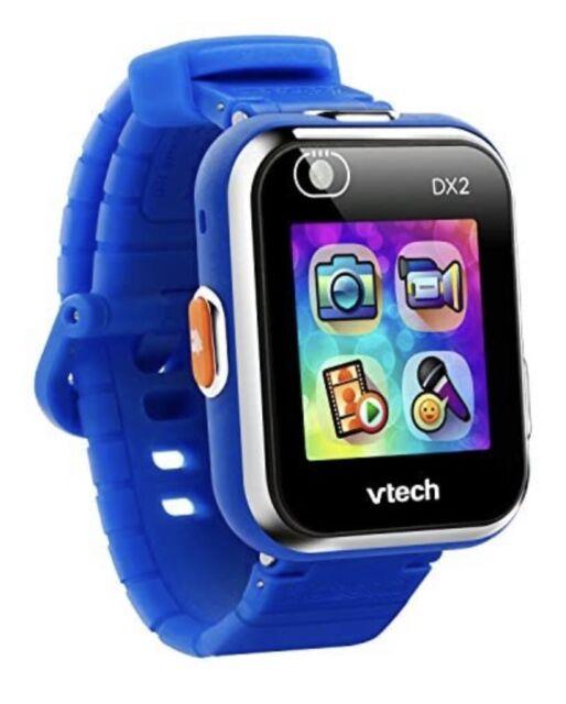 VTech Kidizoom DX2 Dual Camera Smart Watch Toy - Blue (193803) Missing Box & Man