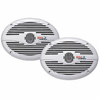 Boss Mr690 6 X 9 2-way Marine Speaker Pair 350 Watt White on sale